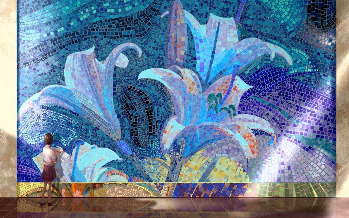 Puzzle Zbierać puzzle online - Folding mosaic