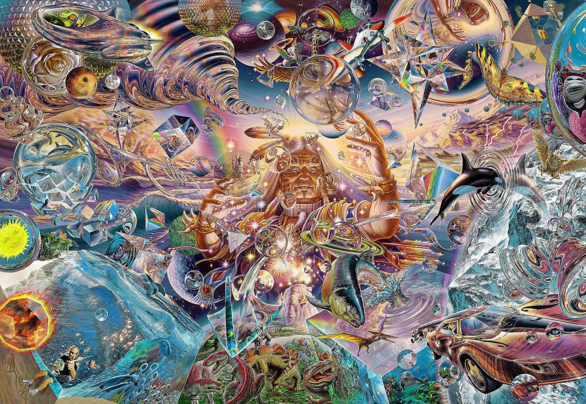 Puzzle Zbierać puzzle online - The creation of the world