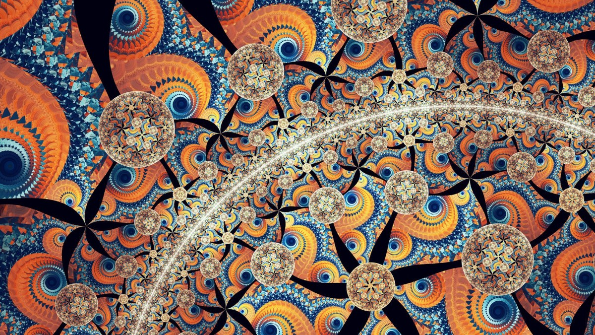 Puzzle Zbierać puzzle online - Spiral and arc