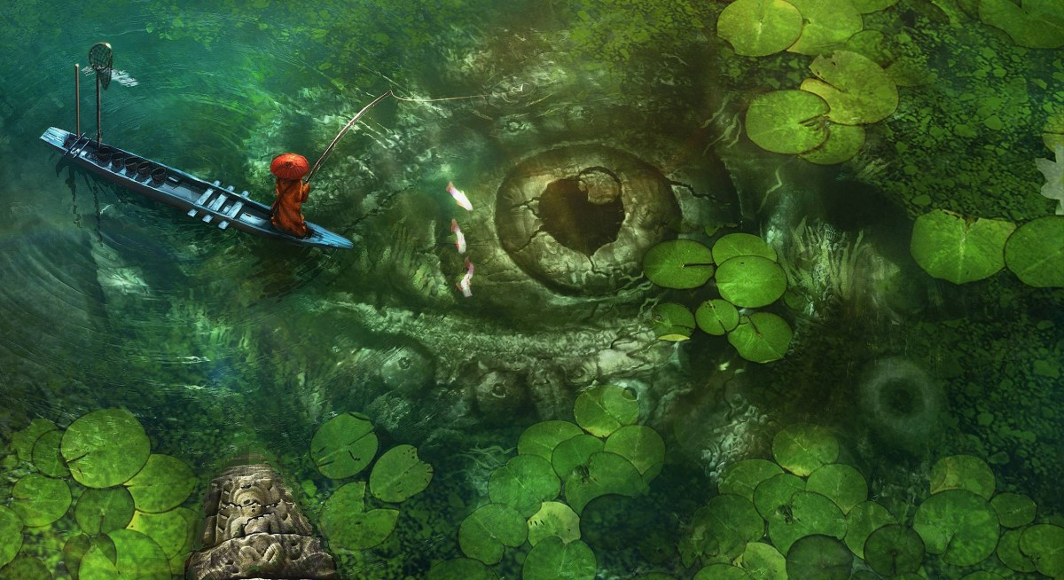Puzzle Zbierać puzzle online - Secrets of the deep