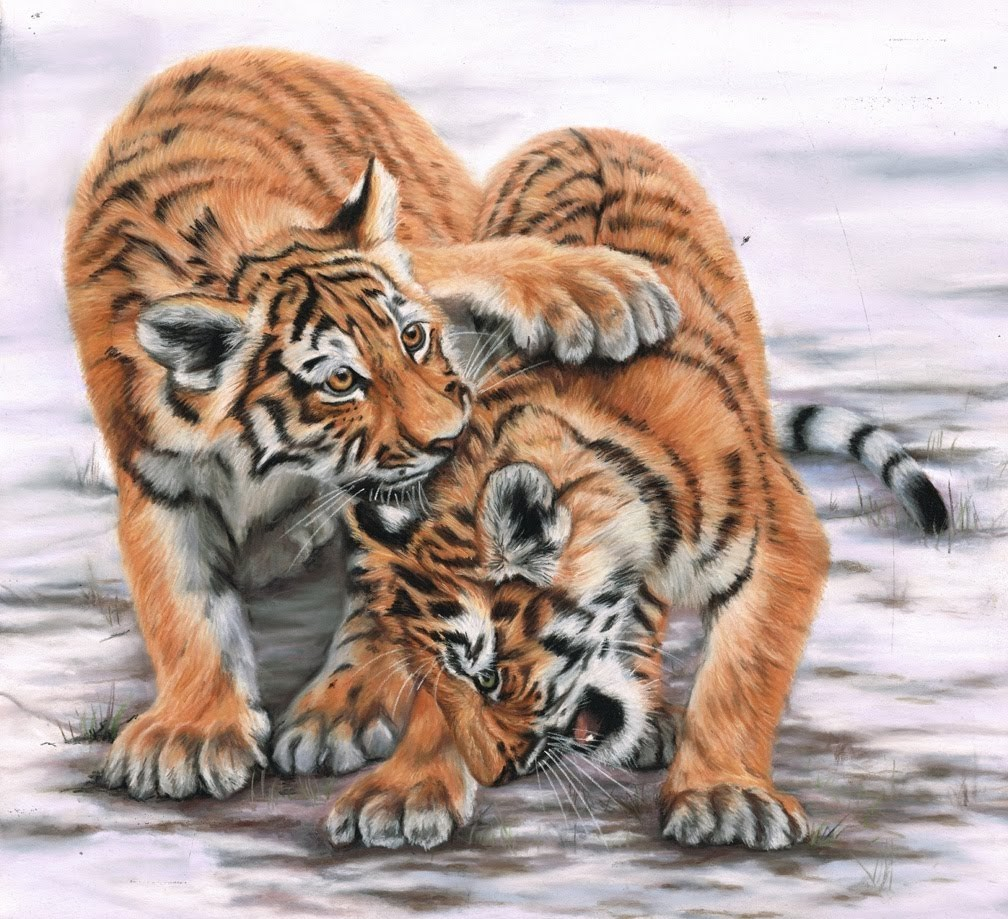 Puzzle Zbierać puzzle online - The cubs