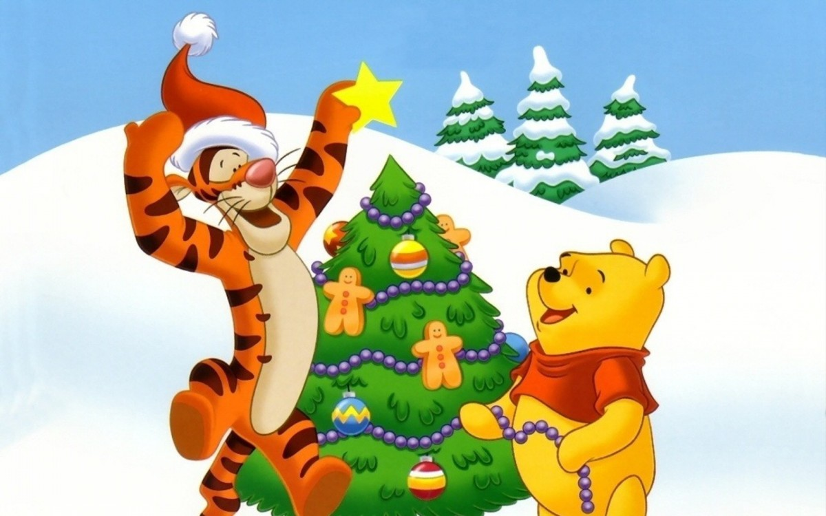 Puzzle Zbierać puzzle online - Vinnie and Christmas tree
