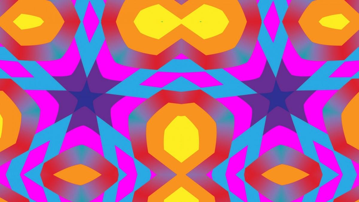 Puzzle Zbierać puzzle online - A bright symmetry