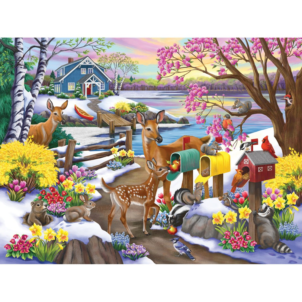 Puzzle Zbierać puzzle online - The smell of spring