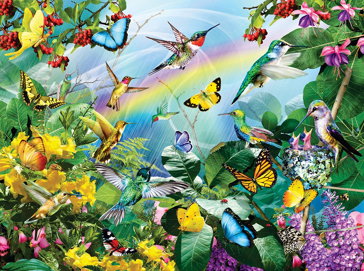 Puzzle Zbierać puzzle online - Wildlife