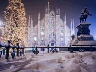 Собирать пазл  Zimniy Milan онлайн
