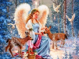 Собирать пазл Angel 1 онлайн