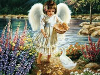 Собирать пазл Angel 2 онлайн