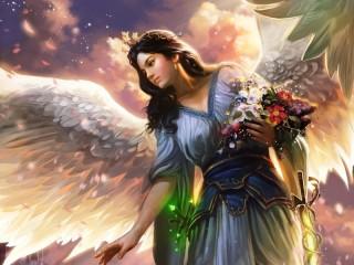 Собирать пазл Angel 6 онлайн
