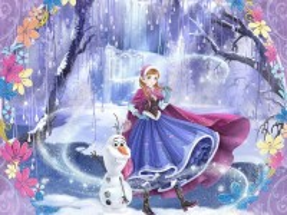 Собирать пазл Anna anime style онлайн