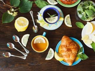 Собирать пазл Fragrant tea онлайн