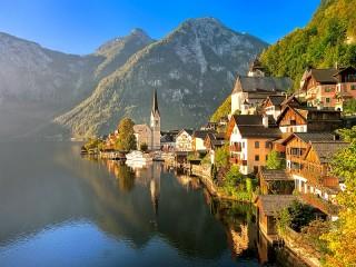 Собирать пазл Austrian Alps онлайн