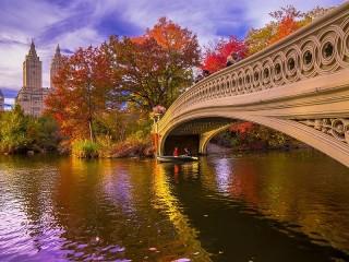 Собирать пазл White bridge онлайн