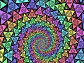 Собирать пазл Endless spiral онлайн