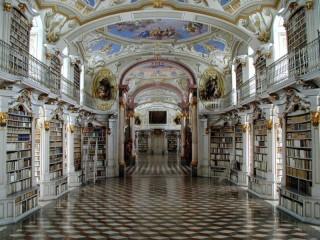 Собирать пазл Library - a dream онлайн