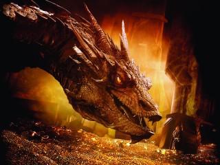 Собирать пазл Bilbo and Smaug онлайн