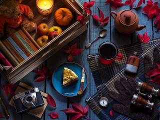 Собирать пазл The richness of autumn онлайн