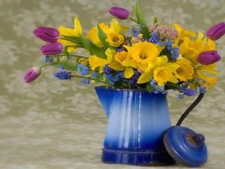Собирать пазл bouquet of онлайн