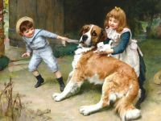 Собирать пазл Kids and animals онлайн