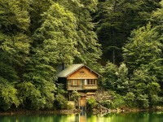 Собирать пазл The lake house онлайн