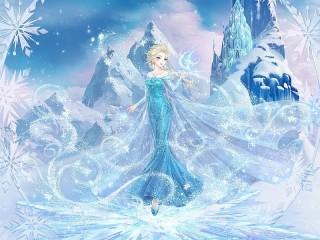 Собирать пазл Elsa in anime style онлайн