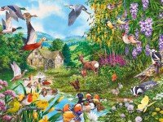 Собирать пазл Flora and fauna онлайн