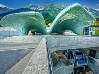 Собирать пазл Funicular онлайн