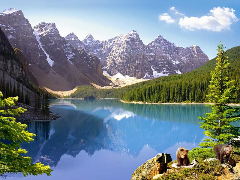 Puzzle Zbierać puzzle online - Canada