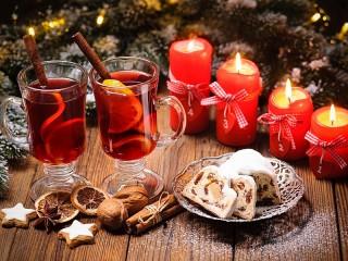 Собирать пазл Hot mulled wine онлайн