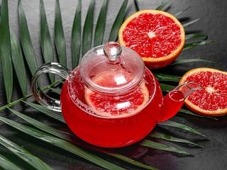 Собирать пазл Grapefruit tea онлайн