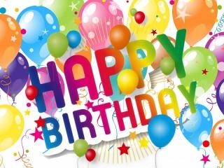 Собирать пазл Happy Birthday онлайн