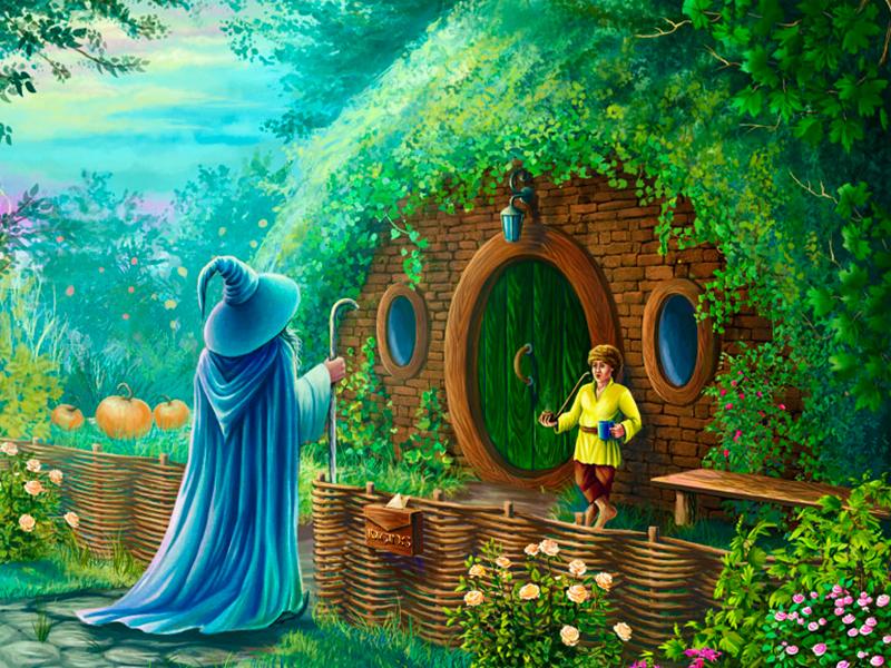 Puzzle Zbierać puzzle online - Hobbit