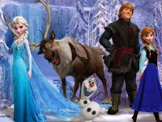 Собирать пазл Frozen онлайн