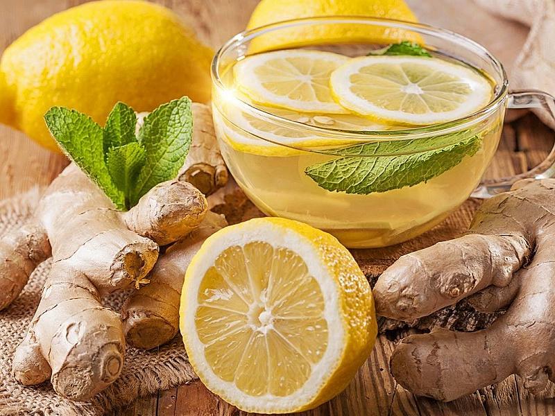 Puzzle Zbierać puzzle online - Imbirniy chay i limon