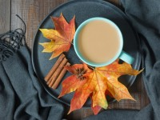 Собирать пазл Autumn coffee онлайн