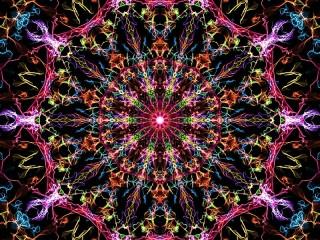 Собирать пазл Circular abstraction онлайн