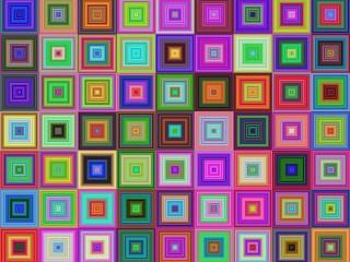 Собирать пазл Squares онлайн