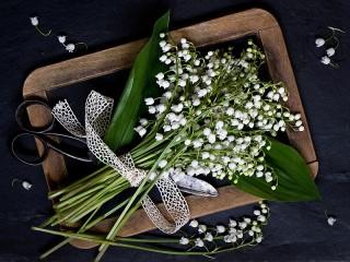 Собирать пазл Lilies of the valley онлайн