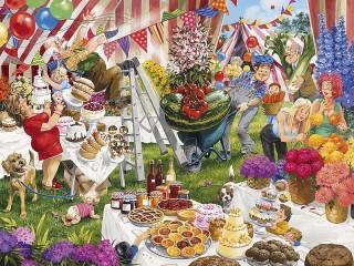 Собирать пазл Summer picnic онлайн