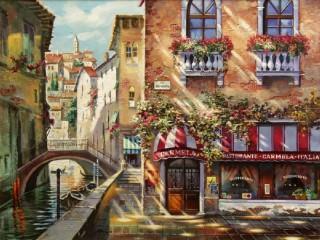Собирать пазл Venice in summer онлайн