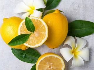 Собирать пазл Lemons and flowers онлайн