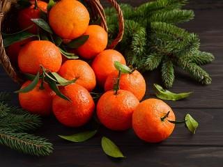 Собирать пазл Mandarin онлайн