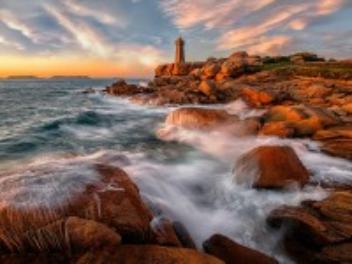 Собирать пазл Lighthouse in France онлайн