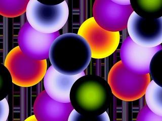 Собирать пазл Many circles онлайн