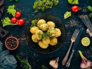 Собирать пазл New potatoes онлайн