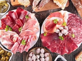 Собирать пазл Meats онлайн