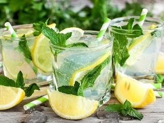 Собирать пазл Mint lemonade онлайн