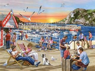 Собирать пазл On the waterfront онлайн
