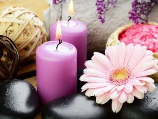 Собирать пазл Still life with candles онлайн