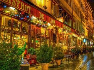 Собирать пазл Lyon by night онлайн